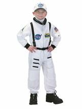 Charades Astronauta Vuelo Traje Nasa Blanco Niños Disfraz Halloween CH00210 - $46.31