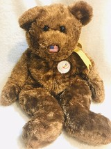 "2002 Ty Beanie Baby Champion Bear USA 15"" FIFA World Cup Korea/Japan Plush Toy - $9.79"