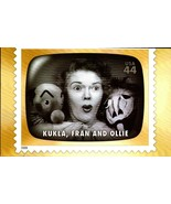 FDC POSTCARD-KUKLA, FRAN & OLLIE- EARLY TV MEMORIES-2009  ARTCARFT CACHE... - $1.96