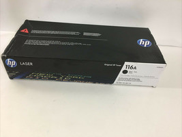 New Genuine HP 116A (W2060A) Black Toner Cartridge   - $44.55