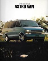 1995 Chevrolet ASTRO VAN sales brochure catalog 95 US Chevy CL LT - $7.00