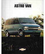 1995 Chevrolet ASTRO VAN sales brochure catalog 95 US Chevy CL LT - $6.00