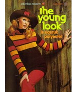 Vintage 1972 THE YOUNG LOOK - Columbia Minerva Crochet Patterns #2554 - $10.00