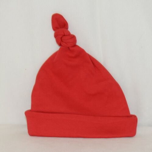 Blanks Boutique Infant Baby Beanie Knot Cap Hat One Size Red