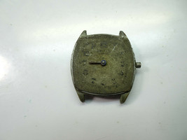 HAMPDEN DIADEM 15 JEWEL ART DECO CUSHION CASE WATCH FOR REPAIR OR TRENCH... - $130.62