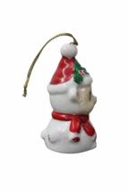 Set of (7) Genuine Bone China Christmas Sheep Figurine Ornament Lot Figure image 5