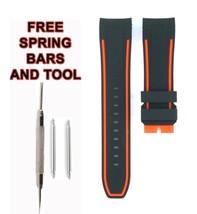 For Invicta Pro Diver 25473 Red Line 24mm Black Rubber Watch Strap 536INV - $34.65