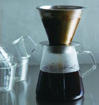 700 ml Carat Coffee Dripper and Pot with Lid by Kinto image 11