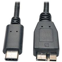 Tripp Lite U426-003 USB-C Male to USB-B Male Micro USB 3.1 Cable, 3ft - $28.52