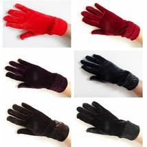 Womens Golf Gloves Lady Velvet Anti-cold Riding Cycling Drving Mitten Wi... - $77,64 MXN