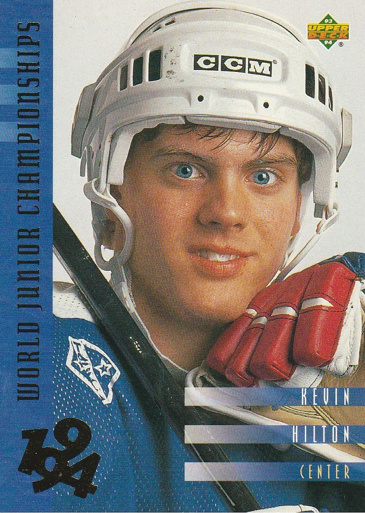 Primary image for 1993-94 Upper Deck #567 Kevin Hilton WJC RC