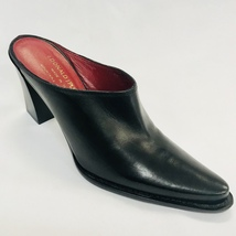 Women's Donald J Pliner Black Heels 100% Genuine Leather - $250.00