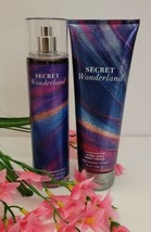 SECRET WONDERLAND Ultra Shea Body Cream & Fragrance Mist Bath & Body Wor... - $27.82