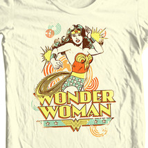 Wonder Woman T-shirt golden age old DC comic superhero graphic cotton tee DCO179 image 1