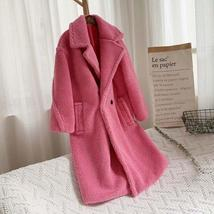 Luxury Fashion Leopard Long Thick  Faux Fur Teddy Bear Coat image 5