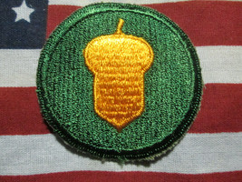 Us Army Wwii WW2 87th Infantry Division Color 1944 Patch C/E - $7.00