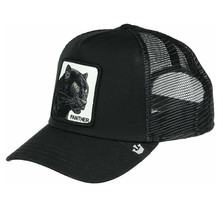 Goorin Bros Snapback Mesh Cap Black Panther Cat Mesh Trucker Hat 101-0465 image 2