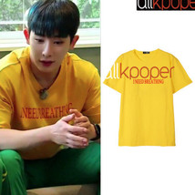 KPOP Monsta x WONHO T-shirt NEWTON Tshirt Casual Letter Tee Tops - $9.99