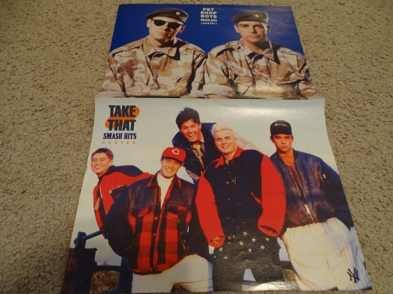 Salt N' Pepper Take That Pet Shop Boys teen magazine poster clipping Tiger Beat
