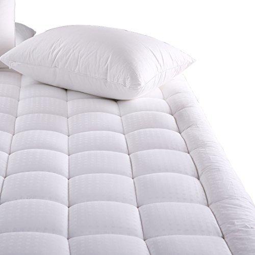 MEROUS Cal King Size Cotton Mattress Pad - Pillow Top ...