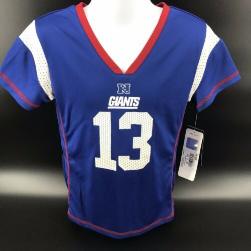 Primary image for NFL New York Giants O'Dell Beckham Jr Girls Jersey Size S (6/6x) - Still NEW -h