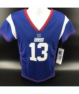 NFL New York Giants O'Dell Beckham Jr Girls Jersey Size S (6/6x) - Still... - $19.99