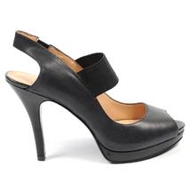 Nine West Womens Slingback Sandal NWZAIDAH BLACK BLK - $80.06