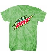 Mountain Dew Symbol Mineral Wash T-Shirt Green - $31.98