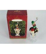 1999 Hallmark Sundae Golfer Christmas Ornament Keepsake Mouse Golfing 27795 - $17.81