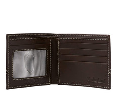 Timberland Men's Leather Billfold Contrast Stitch Wallet w/ Key Chain NP0366/01 image 2