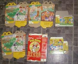 Looney Tunes Tiny Toons McDonald's Happy Meal Graham Snacks Box Lot - $34.99