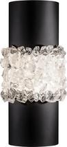 Sconce ARCTIC HALO 2-Light Matte Black Crystal Metal New - $1,769.00