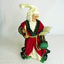 "Kurt Adler Christmas Morning Scrooge Figurine 12"" KSA Collectible  - $34.60"