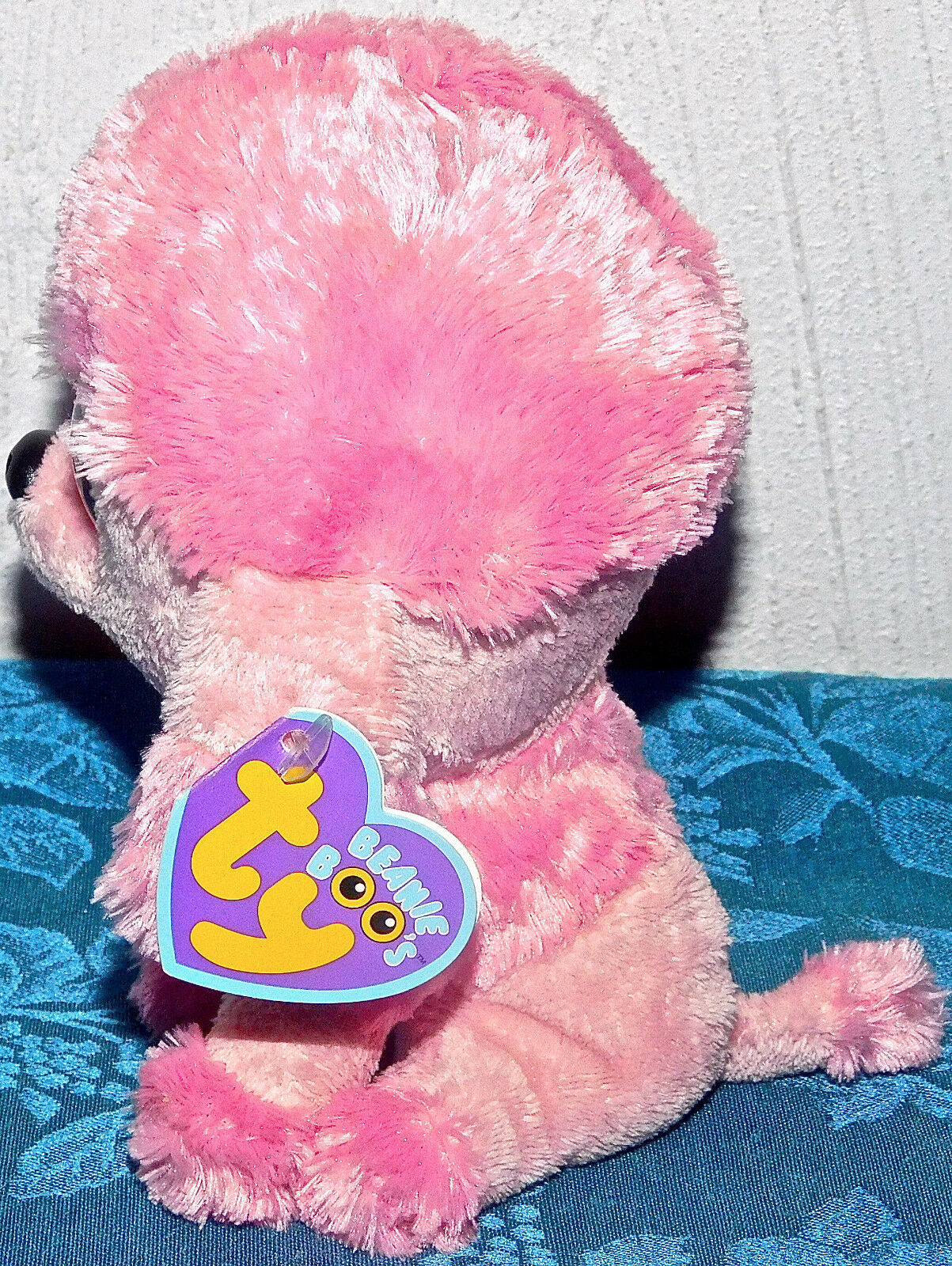 7a07d30f34b New TY Beanie Boos PRINCESS PINK POODLE 6