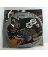 CHIP FOOSE SUN SHADES FOR AUTO JUMBO SIZE WITH GREEN MUSCLE CAR DESIGN 2... - $14.69