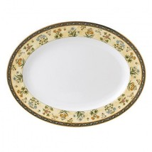 """Wedgwood India 13.75"""" Oval Serving Platter New with Tag - £98.22 GBP"""