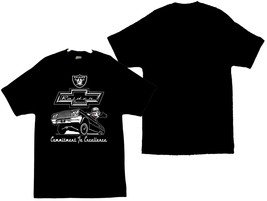 Felix The Cat With The Raiders Logo and A Chevy Impala Men's T-Shirts - $19.80