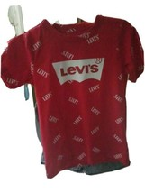 New Boys 2 Piece Levi's Short Set Size 7 MSRP $36 - $16.63