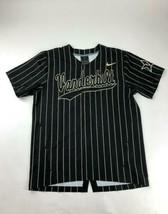 Nike Vanderbilt Digital Vapor Full Snap Baseball Jersey Men's L Black AV... - $49.49