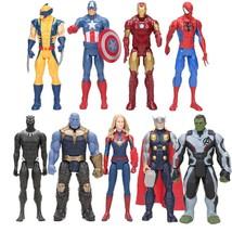 Marvel Toys The Avenger Endgame 30cm Movie Super Hero thanos Captain Ame... - $27.50