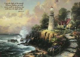 """Thomas Kinkade """"The Light Of Peace"""" 500 Oversized Piece Puzzle NEW/SEALED - $25.74"""