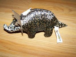 Disney World Animal Kingdom Stegosaurus Dinosaur Dino Bean Bag Plush Toy... - $16.00