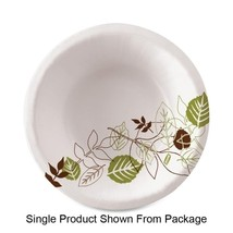 Dixie Foods Bowls, Heavy Weight, 12 oz., 125/PK, Pathways/White Case Pack 2 - $57.98