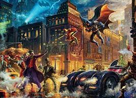 Ceaco Thomas Kinkade - DC Comics - Gotham City Puzzle - 1000 Pieces - $11.09