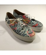 Kenzo Mens Sneakers Shoes Lace Up White Tiger Size 42 US 8.5 - $93.25