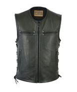 Men's Rider Zipper Front Concealed Carry Vest Bike Daniel Smart Motorcyc... - $119.95