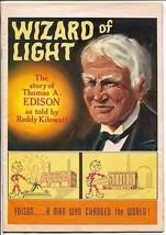 Wizard of Light Story Of Thomas Edison 1965-EC-Reddy Kilowatt-last editi... - $56.75