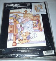 Janlynn Kit 140-140 Bedtime Prayers NEW 1998 Counted Cross Stitch Bears ... - $18.99