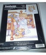 Janlynn Kit 140-140 Bedtime Prayers NEW 1998 Counted Cross Stitch Bears ... - $18.99