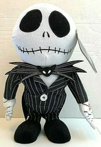 Nightmare Before Christmas Dancing Jack Skellington Doll NWT Works - $29.65